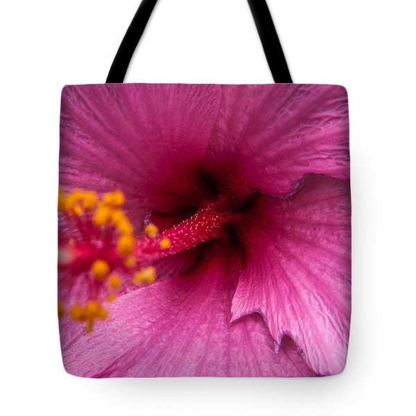 Tote Bag featuring the photograph Red Bloom - Pla302 by G L Sarti