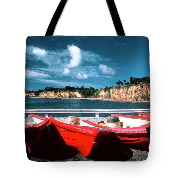 Red Boat Diaries Tote Bag