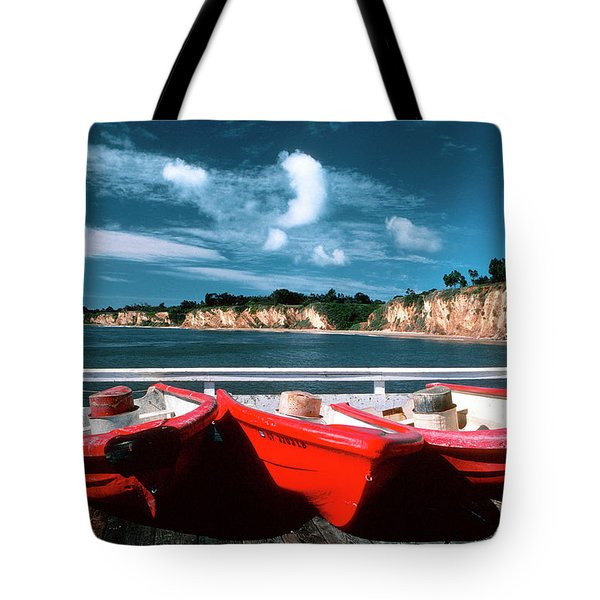 Red Boat Diaries Tote Bag