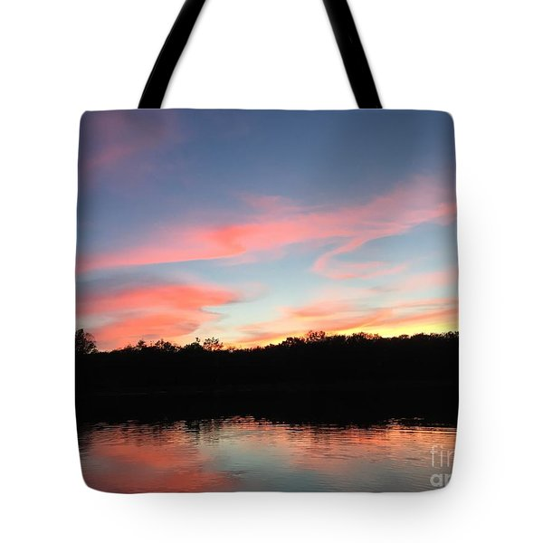 Davin-sky Tote Bag by Jason Nicholas