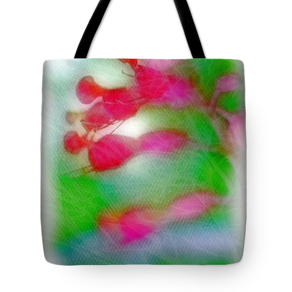 Red Buckeye Tote Bag