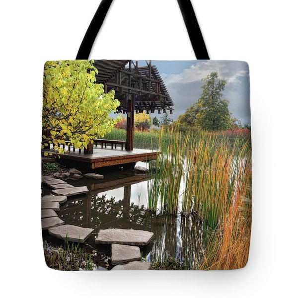 Red Butte Gardens Tote Bag by Utah Images