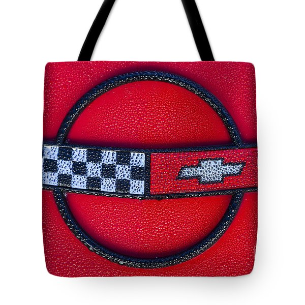Red C4 Tote Bag