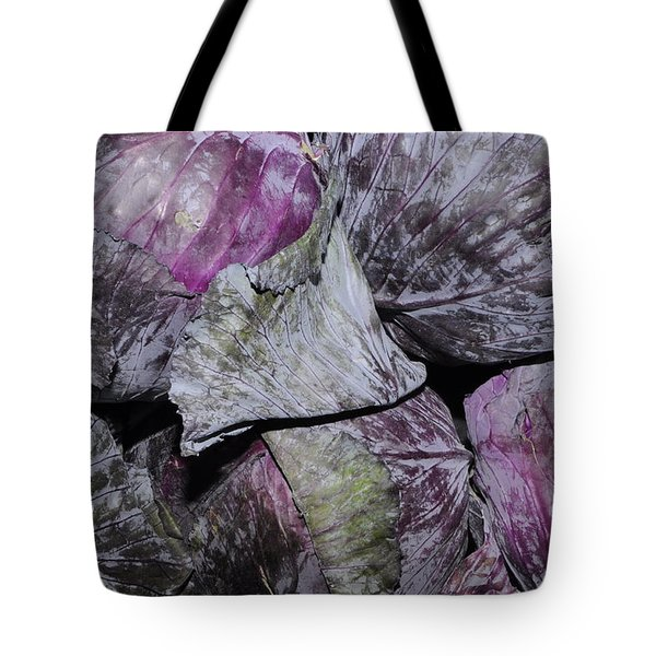 Red Cabbage Tote Bag