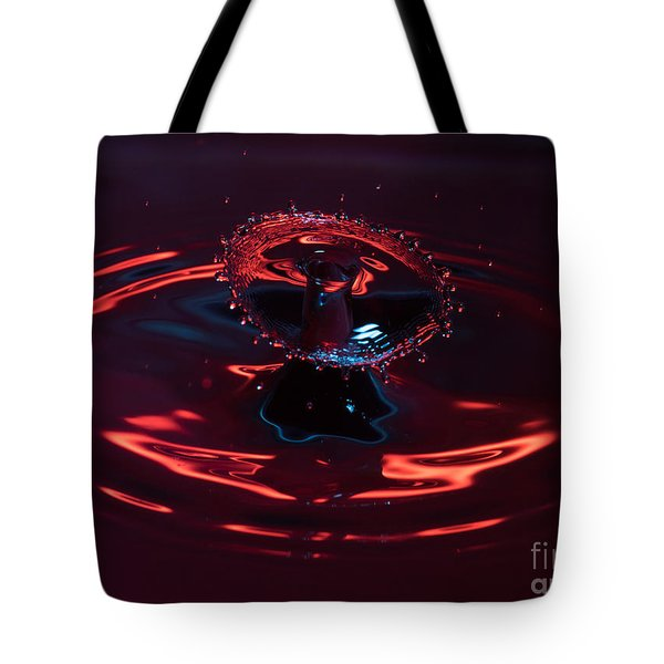 Red Carousel Tote Bag