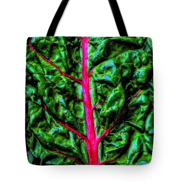 Red Chard Tote Bag