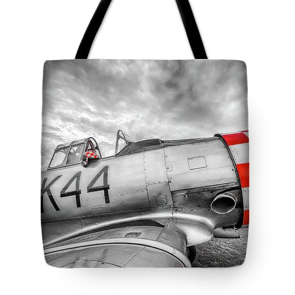Red Checkers Tote Bag