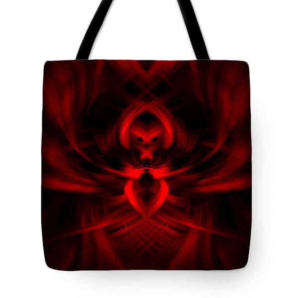 RED Tote Bag by Cherie Duran