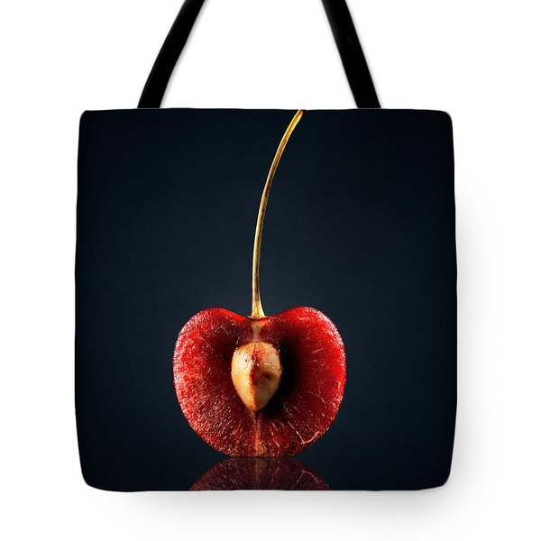 Red Cherry Still Life Tote Bag