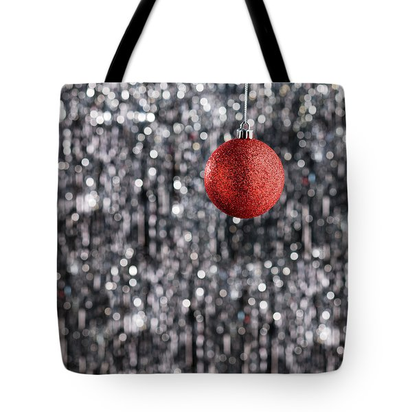 Tote Bag featuring the photograph Red Christmas  by Ulrich Schade
