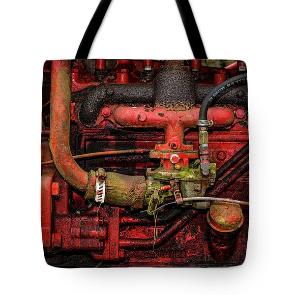 Tote Bag featuring the photograph Red by Christopher Holmes