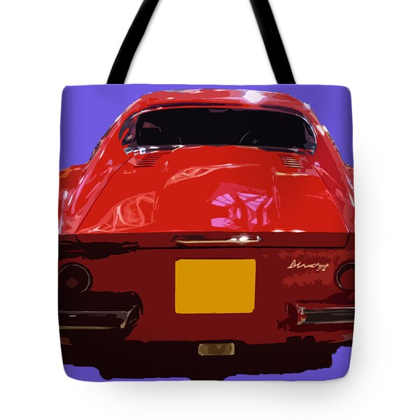 Red Classic Emd Tote Bag