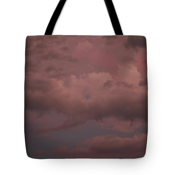 Tote Bag featuring the photograph Red Clouds Iv by Dylan Punke