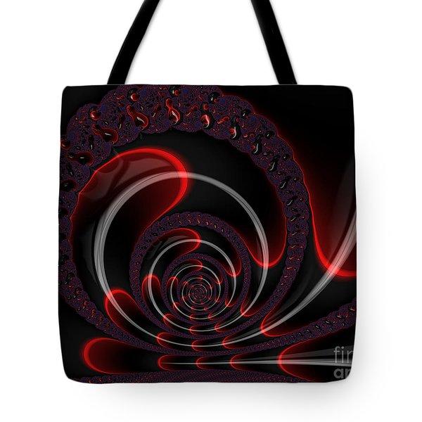 Red Cobra Tote Bag