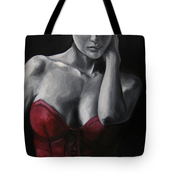Red Corset Nr.4 Tote Bag