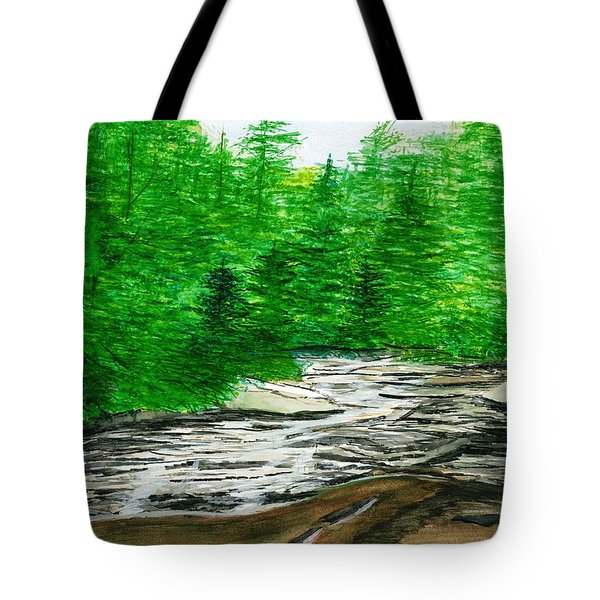 Red Creek Tote Bag