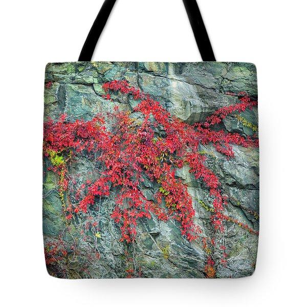 Red Creeper Tote Bag