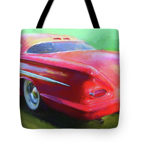 Red Custom Tote Bag