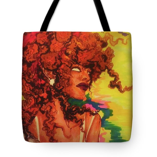 Red Dawn Tote Bag