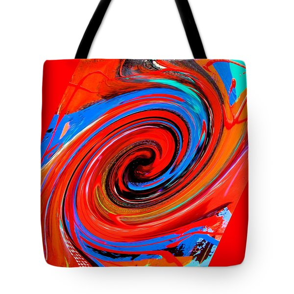 Red Dervish Tote Bag