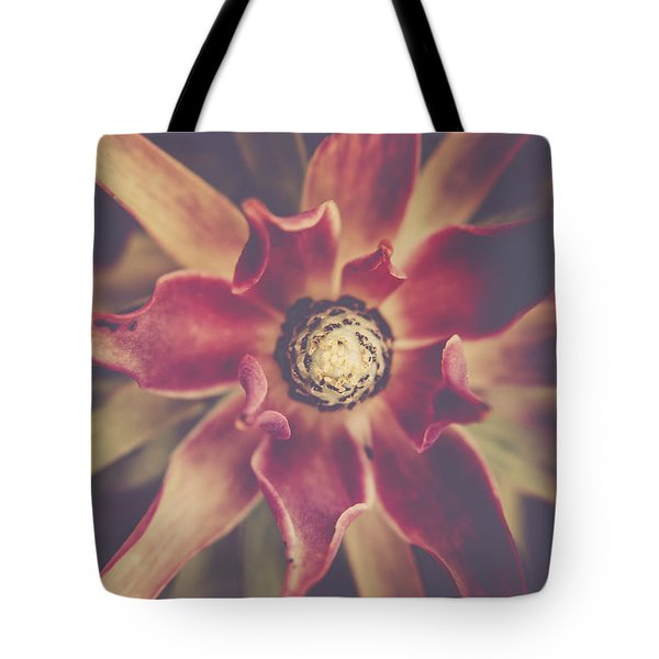 Red Devil Flower Tote Bag