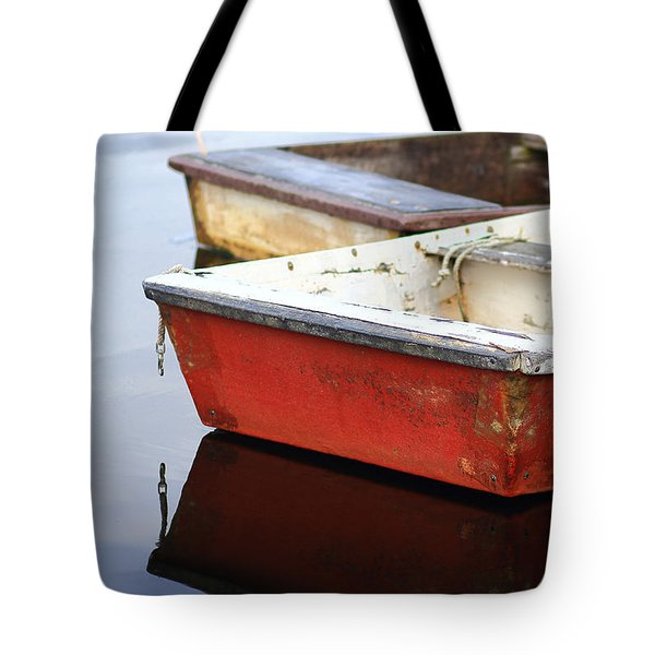 Red Dingy Tote Bag