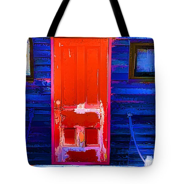 Red Door Harbor Tote Bag