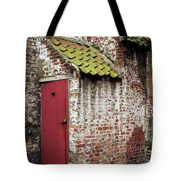 Red Door Tote Bag