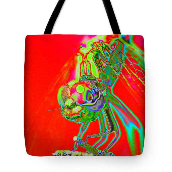 Red Dragon Tote Bag by Richard Patmore