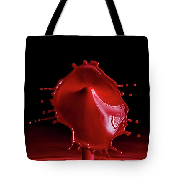 Red Drop Tote Bag