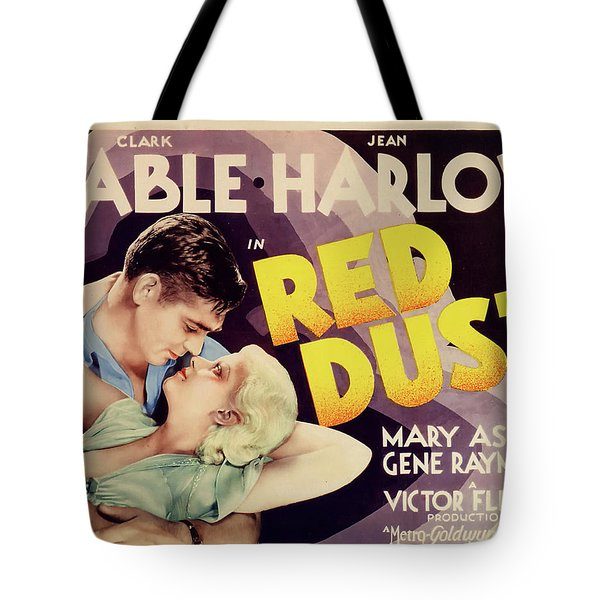Red Dust 1932 Tote Bag
