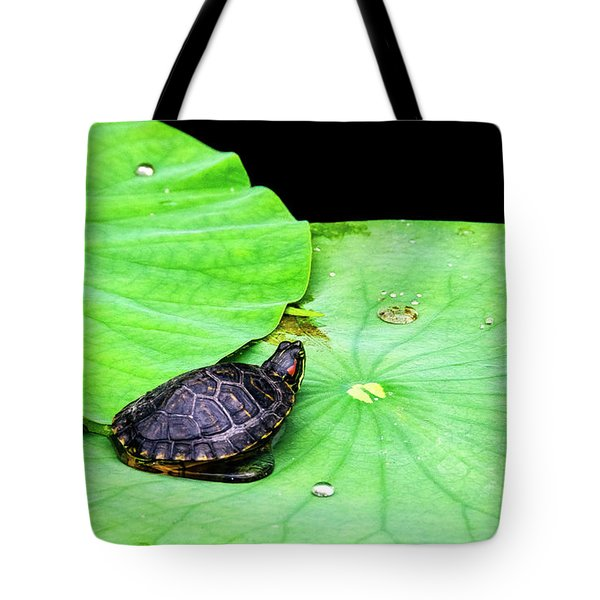 Red-eared Slider Tote Bag