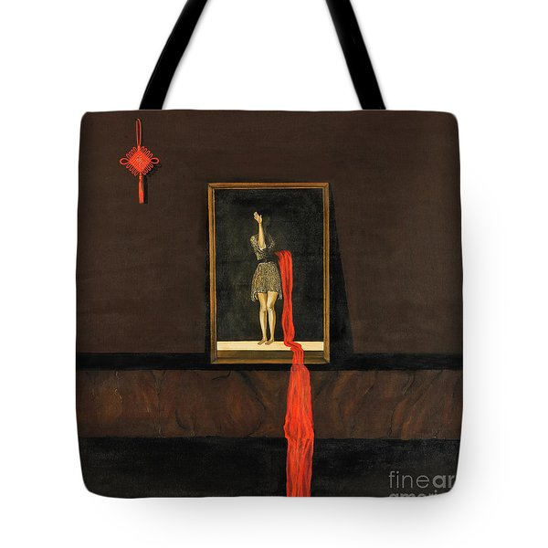 Red Echo Tote Bag