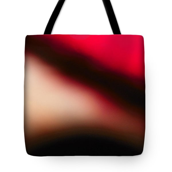 Red Explorer Abstract Tote Bag