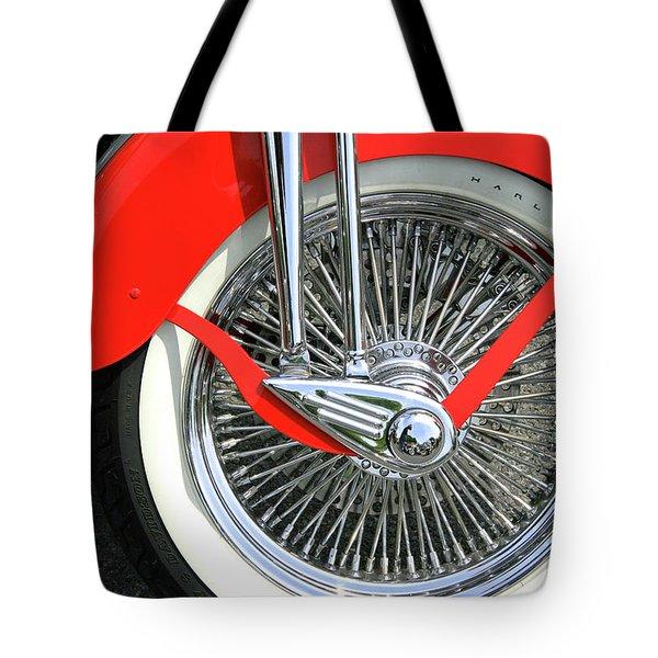 Red Fender Tote Bag
