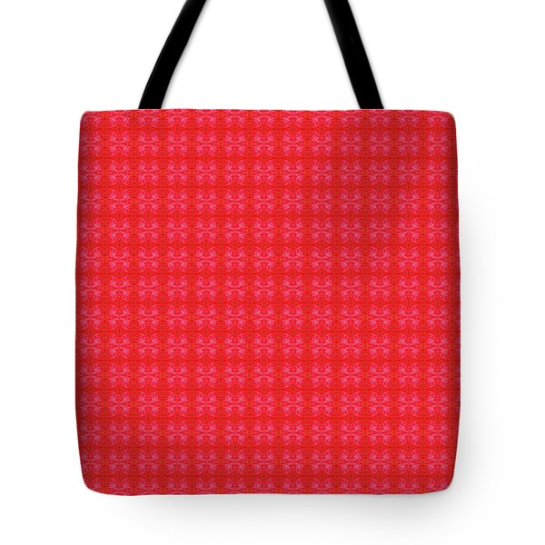 Tote Bag featuring the painting Red From The Heart by Kym Nicolas