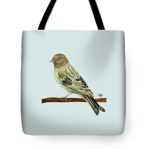 Red-fronted Serin Tote Bag