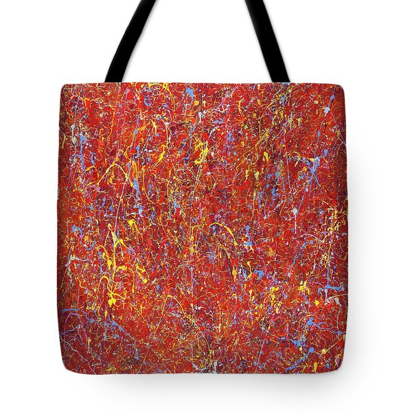Red Galaxy-2 Tote Bag