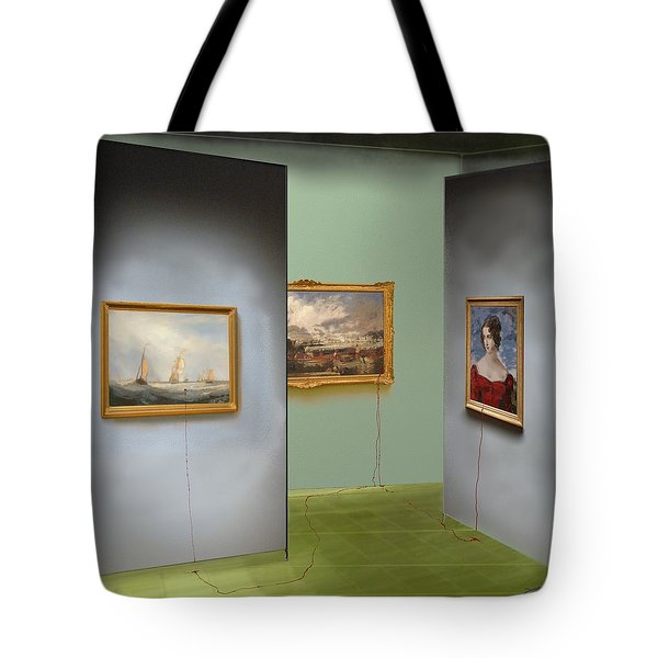 Red Gallery Tote Bag