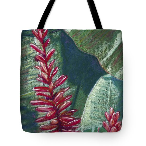 Red Ginger Tote Bag by Patti Bruce - Printscapes