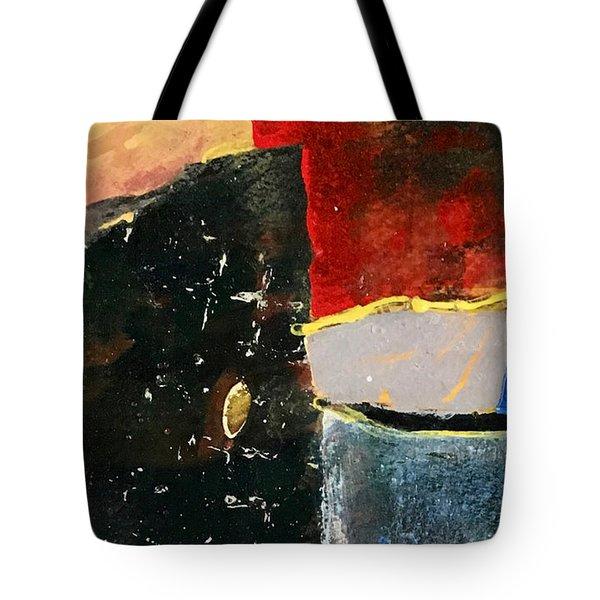 Red Glow Tote Bag