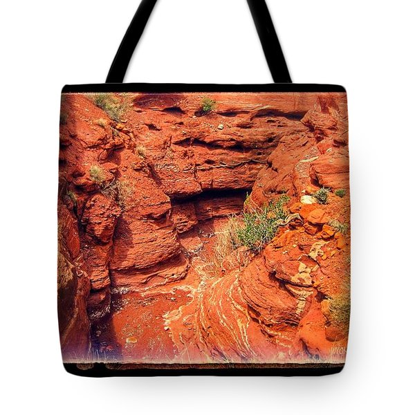 Red Gorge Tote Bag