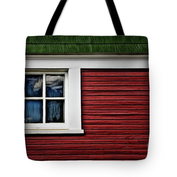 Tote Bag featuring the photograph Red Green by Brad Allen Fine Art