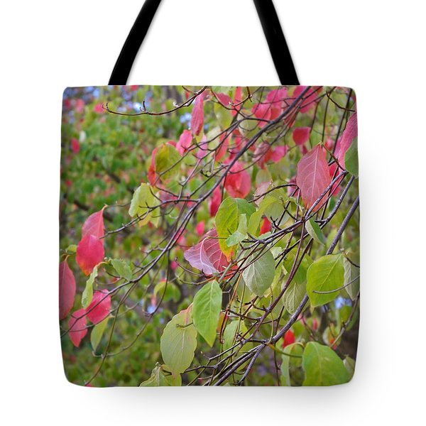 Red Green October Tote Bag