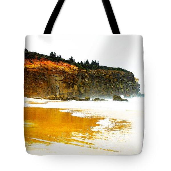 Red Head Beach Tote Bag by Susan Vineyard