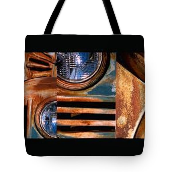 Tote Bag featuring the photograph Red Head On by Steve Karol