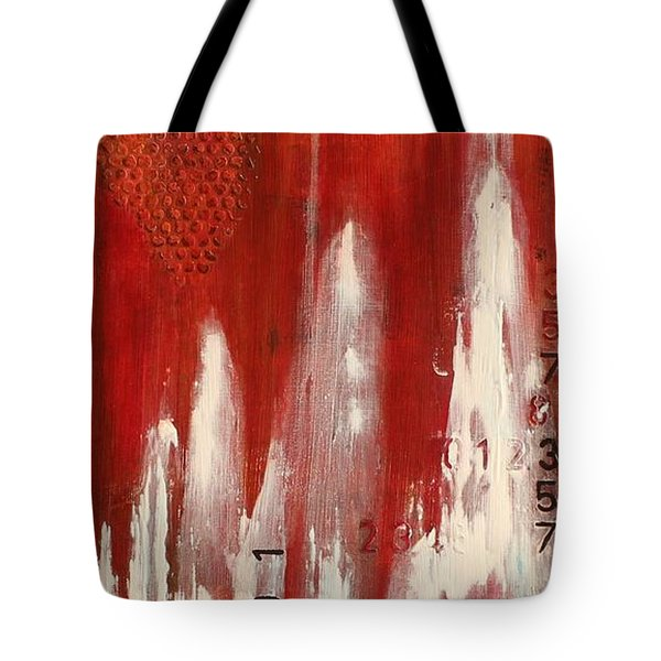 Red Holiday Tote Bag