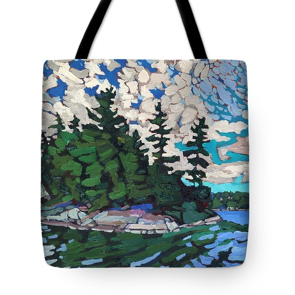 Red Horse Paradise Tote Bag