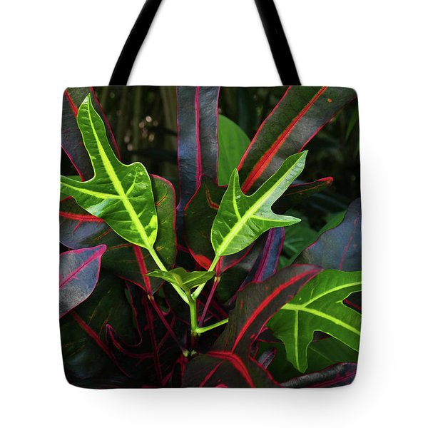 Red Hot And Green Tote Bag