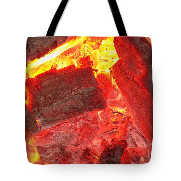 Tote Bag featuring the photograph Red Hot by Betty Northcutt